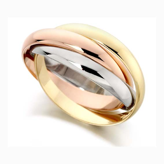 out bargains made color hand ring sarraf gold designer check on tri rings these wedding shop